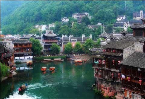 D2:张家界国家森林公园、凤凰古城三晚三日游