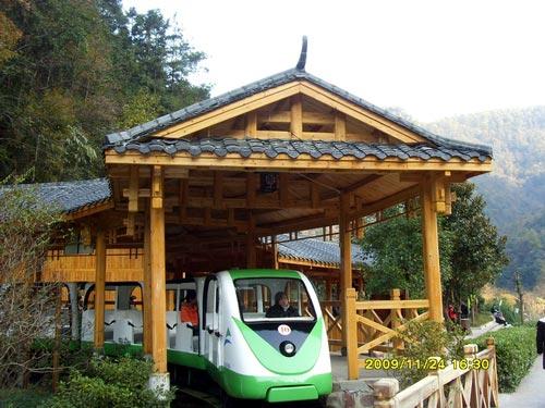 十里画廊小火车