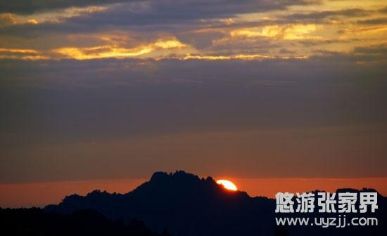 山顶看日出